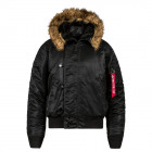 Куртка пилота N-2B Cold Weather Jacket. Black