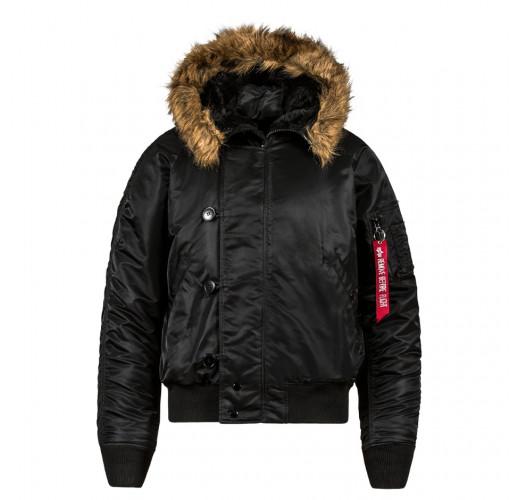 Куртка пилота N-2B Cold Weather Jacket. Black