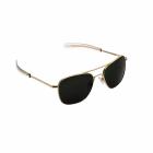 Очки Randolph Aviator Sunglasses (58mm - Gold/Green)