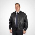 Куртка из кожзама Synthetic Leather Jacket