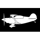 """Наклейка на автомобиль """"Plane Antique"""""""