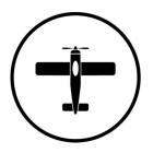 """Наклейка на автомобиль """"Plane Totem"""""""