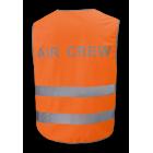 Светоотражающая жилетка (оранжевая) / P.W. AIR CREW