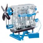 Игрушка, двигатель, Smithsonian Combustion Engine Model Kit