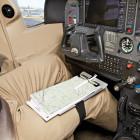 Наколенный алюминиевый планшет лётчика с IFR и VFR