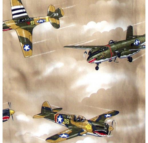 USAAF Warbirds Aloha Shirt