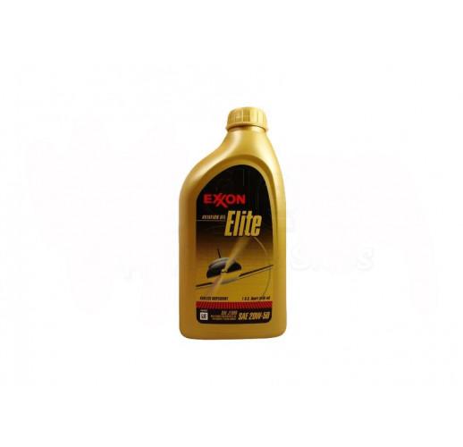 Exxon Mobil Elite 20W-50 Aircraft Oil - Quart Bottle