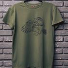 Футболка, AlphaBravoClub, Hawk, зелена