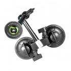 Крепление с двумя присосками, сгибается, Sport Mount - Flex Double Suction