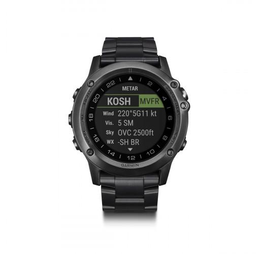 Часы Garmin D2 Bravo Watch - Titanium Edition