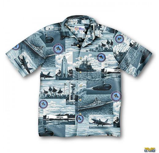 Joint Base Pearl Harbor-Hickam Aloha Shirt