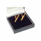 Серьги-винты, Gold
