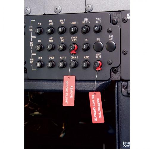 Выключатель автоматической блокировки Remove Before Flight