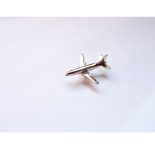 Значок Boeing 737/Боинг 737 (Металлик)