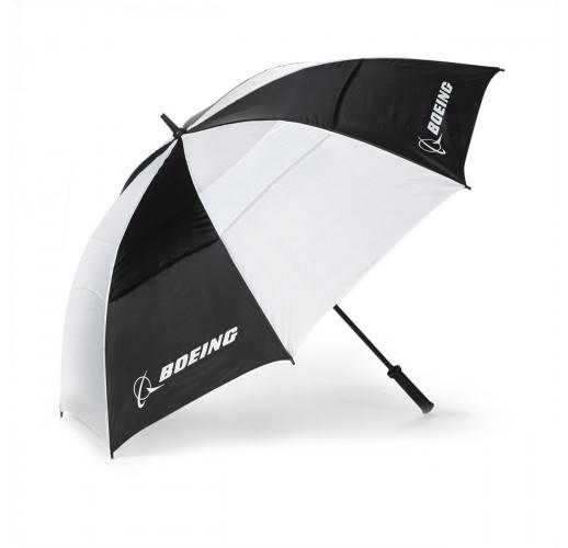 """Зонт """"Boeing"""" (Большой). Черно-белый."""